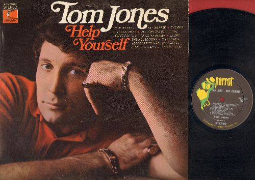 Jones, Tom - Help Yourslef: Elusive Dreams, My Girl Maria, Set Me Free, Laura, The House Song (vinyl STEREO LP record) - EX8/EX8 - LP Records