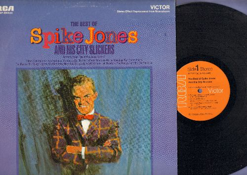 Jones, Spike & His City Slickers - The Best Of Spike Jones and his City Slickers: Cocktails For two, My Old Flame, Cloe, Der Fuehrer's Face, The Glow Worm (vinyl LP record - 1970s pressing) - NM9/EX8 - LP Records