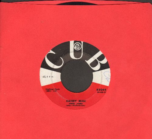 Jones, Jimmy - Handy Man/The Search Is Over (minor wol) - EX8/ - 45 rpm Records