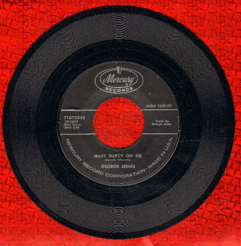Jones, George - Have Mercy On Me/If You Believe - NM9/ - 45 rpm Records
