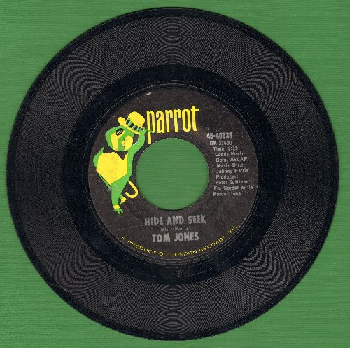 Jones, Tom - Hide And Seek/Love Me Tonight - NM9/ - 45 rpm Records