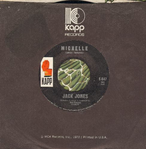Jones, Jack - Michelle/Our Song (with Kapp company sleeve) - NM9/ - 45 rpm Records