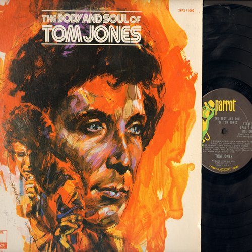 Jones, Tom - The Body And Soul Of Tom Jones: Runnin' Bear, Ain't No Sunshine, Lean On Me, Ballad Of Billy Joe (vinyl STEREO LP record) - NM9/EX8 - LP Records