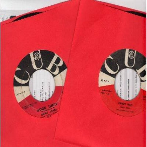 Jones, Jimmy - 2 For 1 Special: Handy Man/Good Timin' - 2 vintage first issue 45s for the price of 1! - VG7/ - 45 rpm Records
