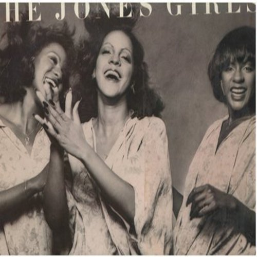 Jones Girls - The Jones Girls: You Gonna Make Me Love Somebody Else (5:17 minute version), Life Goes On, Who Can I Run To (vinyl STEREO LP record) - VG7/EX8 - LP Records