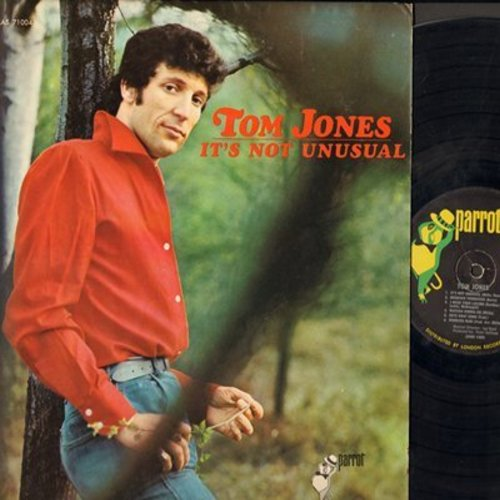 Jones, Tom - It's Not Unusual: Spanish Harlem, It's Just A Matter Of Time, Memphis Tennessee, Once Upon A Time (vinyl STEREO LP record) - EX8/NM9 - LP Records