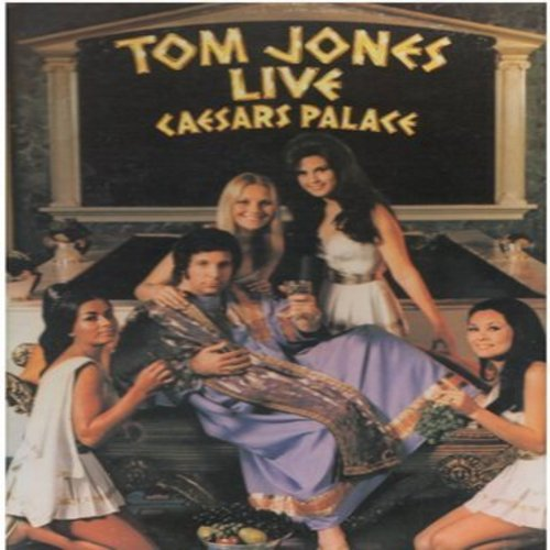 Jones, Tom - Live Ceasars Palace: Cabaret, Soul Man, I (Who Have Nothing), Delilah, She's A Lady, It's Not Unusual, Till, My Way (2 vinyl STEREO LP records, gate-fold cover) - M10/M10 - LP Records