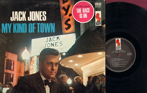 Jones, Jack - My Kind Of Town: The Race Is On, More, King Of The Road (vinyl STEREO LP record) - EX8/EX8 - LP Records