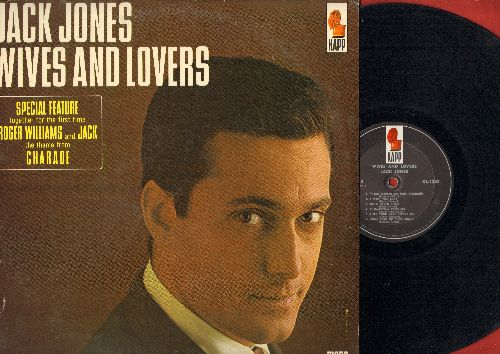 Jones, Jack - Wives And Lovers: Charade, Come Rain Or Come Shine, Toys In The Attic, Fly Me To The Moon (vinyl MONO LP record) - NM9/EX8 - LP Records