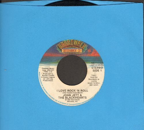 Jett, Joan & The Blackhearts - I Love Rock 'N' Roll/You Don't Know What You've Got  - VG7/ - 45 rpm Records
