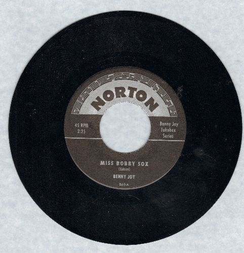 Joy, Benny - Miss Bobby Sox/Steady With Betty (re-issue of RARE vintage Rock-A-Billy recordings) - M10/ - 45 rpm Records
