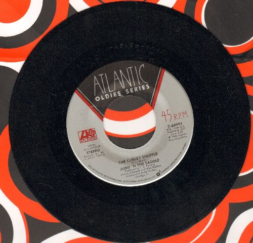Jump 'N The Saddle - The Curly Shuffle (Nukk-Nukk-Nukk)/Jump For Joy (re-issue) - NM9/ - 45 rpm Records