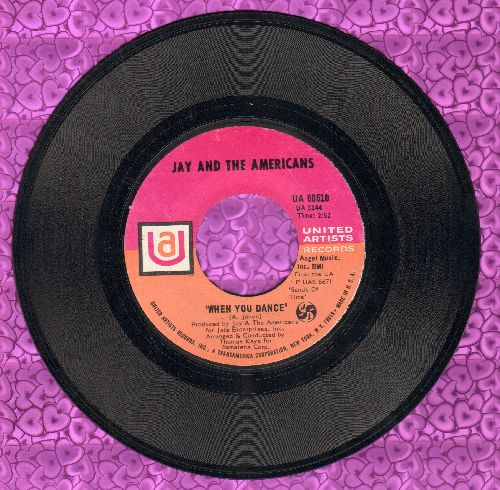 Jay & The Americans - When You Dance/No, I Don't Know Her  - NM9/ - 45 rpm Records