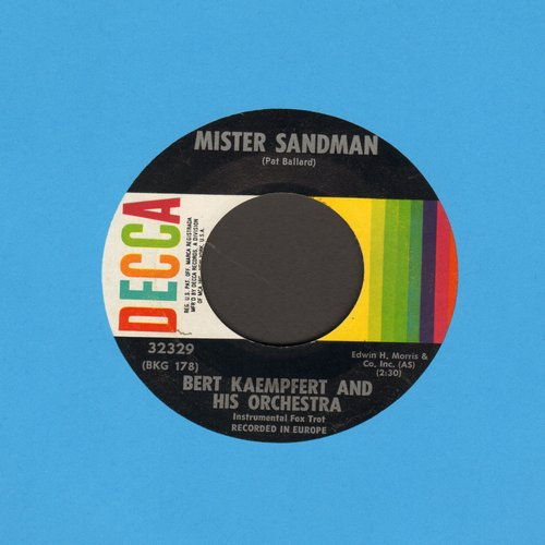 Kaempfert, Bert & His Orchestra - Mister Sandman/Lonely Is The Name - M10/ - 45 rpm Records