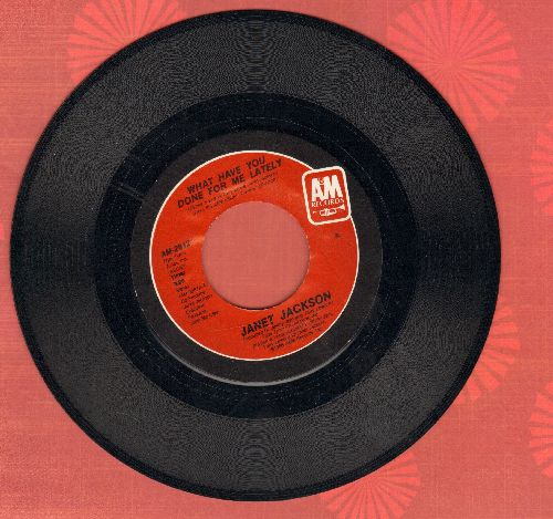 Jackson, Janet - What Have You Done For Me Lately/He Doesn't Know I'm Alive  - M10/ - 45 rpm Records