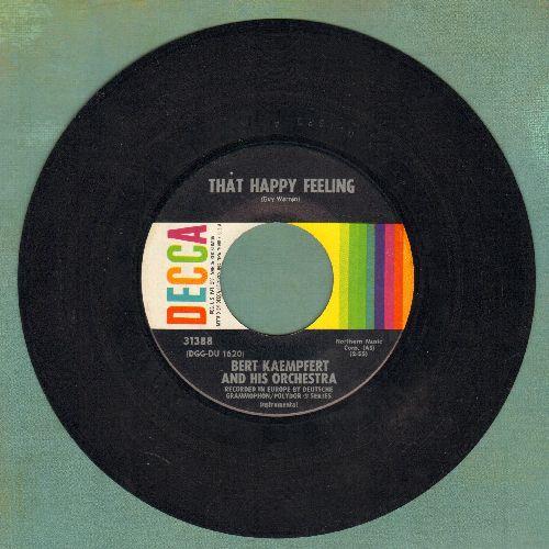 Kaempfert, Bert & His Orchestra - The Happy Trumpeter/Tootie Flutie  - EX8/ - 45 rpm Records