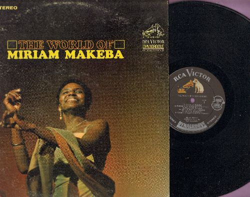 Makeba, Miriam - The World Of: Dubala, Little Boy, Vamos Chamar Ovento, Amapondo, Tonados De Media Noche (vinyl STEREO LP record) - NM9/VG7 - LP Records