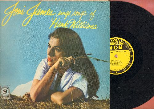 James, Joni - Joni James Sings Songs Of Hank Williams: Jambalaya. Your Cheatin' Heart, Half As Much, I Can't Help It, I'm So Lonesome I Could Cry (vinyl MONO LP record) - VG7/VG7 - LP Records
