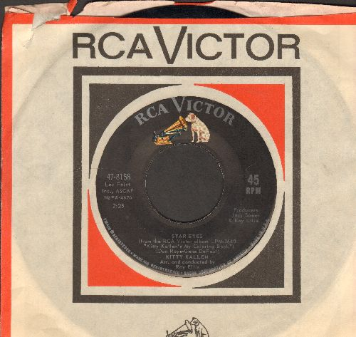 Kallen, Kitty - Star Eyes/Please Don't (with RCA company sleeve) - NM9/ - 45 rpm Records