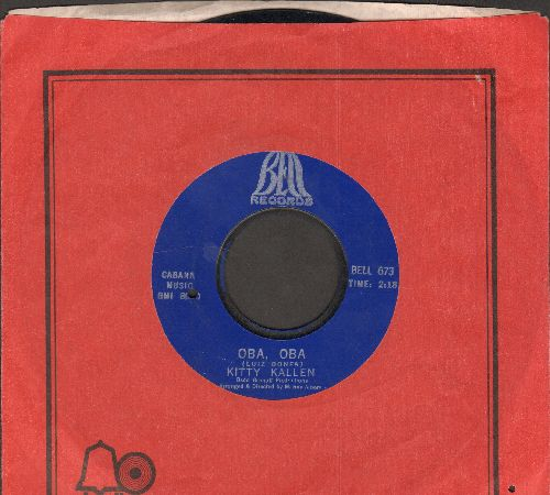 Kallen, Kitty - Oba, Oba/Summer, Summer Wind (with Bell company sleeve) (bb) - EX8/ - 45 rpm Records