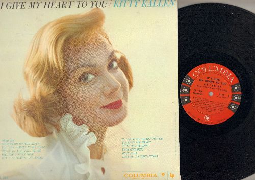 Kallen, Kitty - If I Give My Heart To You: Got A Date With An Angel, Never In A Million Years, That Old Feeling, Vaya Con Dios, Blue Doll (vinyl MONO LP record, NICE condition!) - M10/NM9 - LP Records