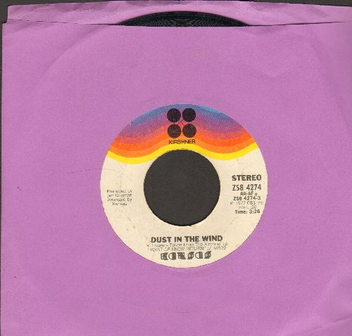 Kansas - Dust In The Wind/Point Of Known Return - EX8/ - 45 rpm Records
