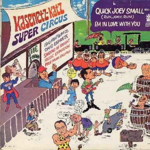 Kasenetz-Katz Super Circus - Quick Joey Small: I'm In Love With You, Let Me Introduce You, Easy To Love, Shake, I Got It Bad For You, Down At Lulu's The Super Circus (vinyl STEREO LP record) - EX8/VG7 - LP Records