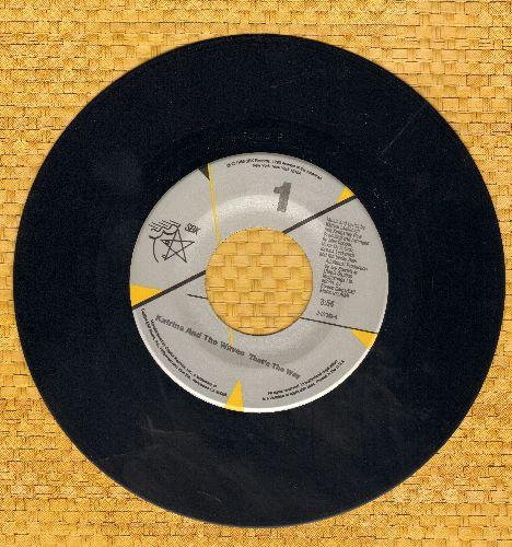 Katrina & The Waves - That's The Way/Love Calculator - NM9/ - 45 rpm Records