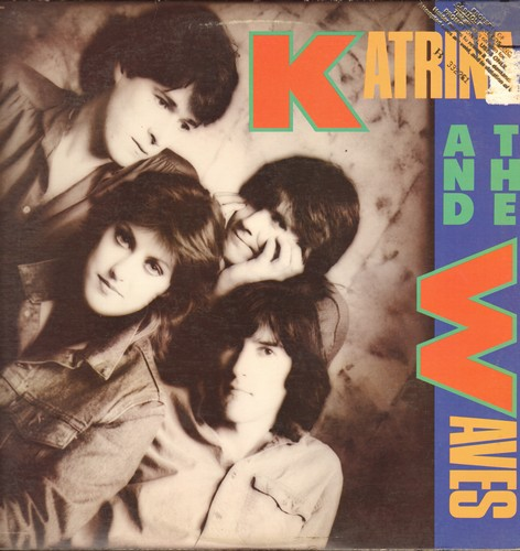 Katrina And The Waves - Katrina And The Waves: Walking On Sunshine, Game Of Love, Red Wine And Whisky, Going Down To Liverpool (vinyl STEREO LP record, DJ advance pressing) - M10/VG7 - LP Records