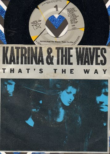 Katrina & The Waves - That's The Way/Love Calculator (with picture sleeve) - NM9/VG7 - 45 rpm Records