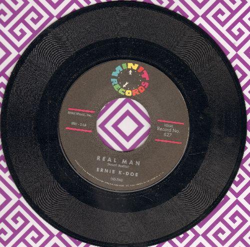 K-Doe, Ernie - Real Man/Te-Ta-Te-Ta-Ta - NM9/ - 45 rpm Records