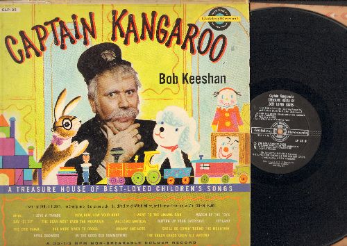 Keeshan, Bob - Captain Kangaroo: I Love A Parade, March Of The Toys, Waltzing Matilda, In The Good Old Summertime (vinyl LP record) - VG7/VG6 - LP Records