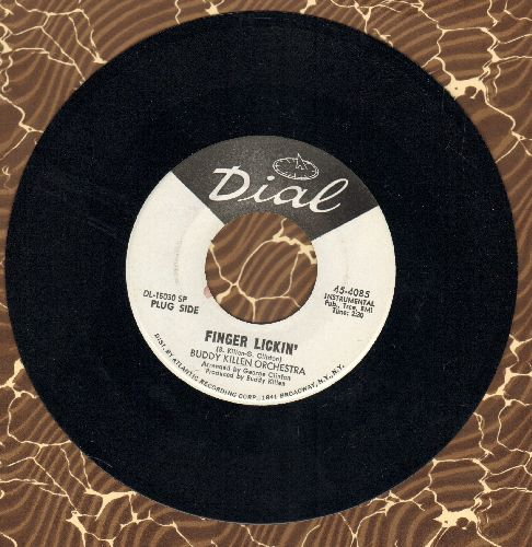Killen, Buddy Orchestra - Finger Lickin'  (double-A-sided DJ advance pressing)(wol) - NM9/ - 45 rpm Records