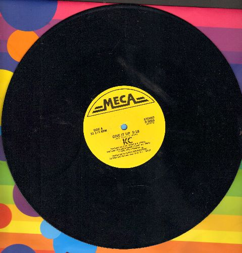 KC - Give It Up (5:18 minutes Extended Dance Club version)/Give It Up (3:30 minutes Instrumental version)(12 inch vinyl Maxi Single) - NM9/ - Maxi Singles
