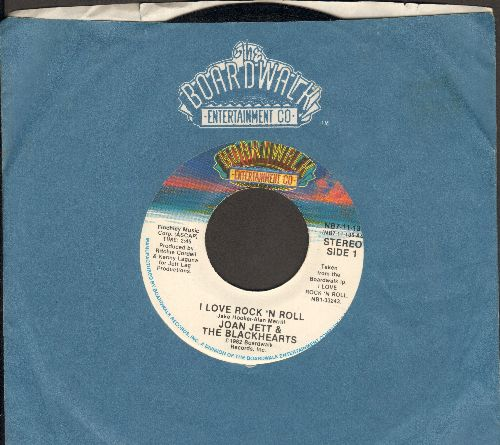 Jett, Joan & The Blackhearts - I Love Rock 'N' Roll/You Don't Know What You've Got  - NM9/ - 45 rpm Records