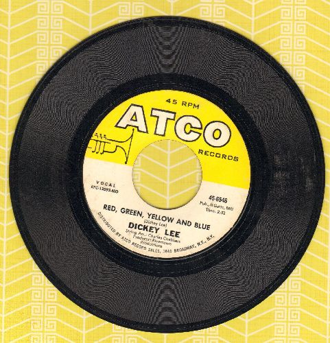 Lee, Dickey - Red, Green, Yellow And Blue/Run Right Back (bb) - EX8/ - 45 rpm Records