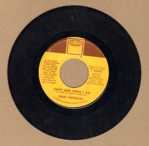 Kendricks, Eddie - Can't Help What I Want/Boogie Woman - NM9/ - 45 rpm Records