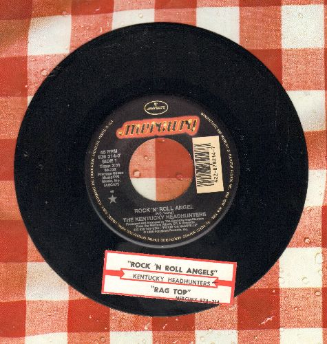 Kentucky Headhunters - Rock'N'Roll Angel/Rag Top (with juke box label) - NM9/ - 45 rpm Records
