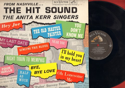 Kerr, Anita Singers - From Nashville..The Hit Sound: You Don't Know Me, Bye Bye Love, Half As Much, Four Walls, Near You (vinyl MONO LP record) - NM9/EX8 - LP Records