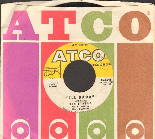 King, Ben E. - Tell Daddy/Auf Wiedersehn, My Dear (with Atco company sleeve) - VG7/ - 45 rpm Records