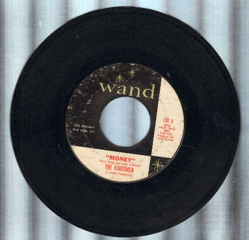 Kingsmen - Money/Bent Scepter  - EX8/ - 45 rpm Records