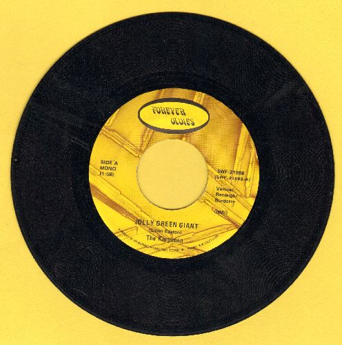 Kingsmen - Jolly Green Giant/Death Of An Angel (double-hit re-issue) - EX8/ - 45 rpm Records
