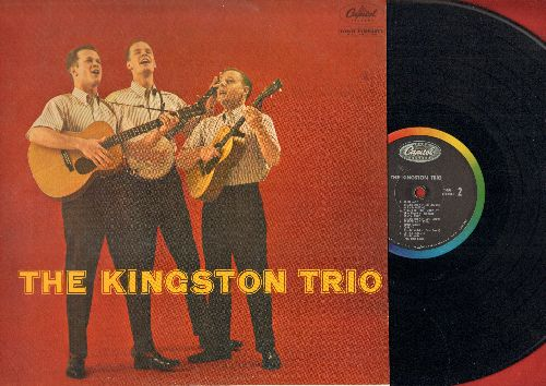 Kingston Trio - The Kingston Trio: Tom Dooley, Sloop John B, Three Jolly Coachmen, Little Maggie (vinyl MONO LP record) - NM9/EX8 - LP Records
