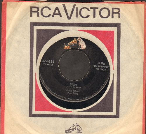 Kitt, Eartha - Fredy/Sweet And Gentle (with RCA company sleeve) - VG6/ - 45 rpm Records