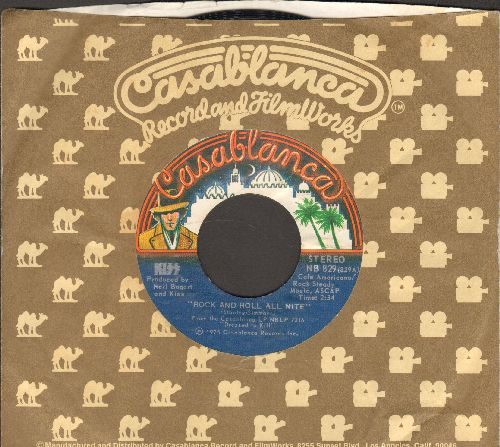 KISS - Rock And Roll All Nite/Getaway (with Casablanca company sleeve) - EX8/ - 45 rpm Records