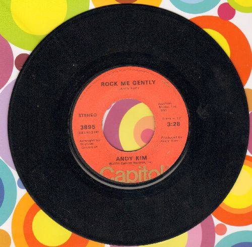 Kim, Andy - Rock Me Gently/Rock Me Gently (Part II) - VG7/ - 45 rpm Records