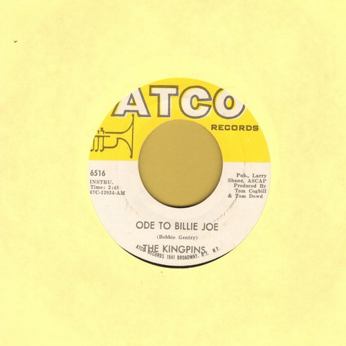 Kingpins - Ode To Billy Joe/In The Pocket  - VG7/ - 45 rpm Records