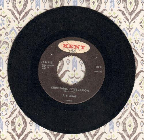 King, B. B. - Christmas Celebration/Easy Listening (black label) - EX8/ - 45 rpm Records