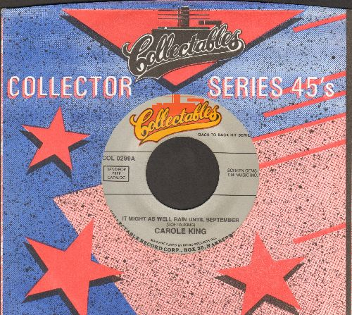 King, Carole - It Might As Well Rain Until September/School Bells Are Ringing (double-hit re-issue) - M10/ - 45 rpm Records