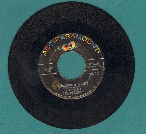 King, B. B. - Tomorrow Night/Mother's Love  - VG7/ - 45 rpm Records